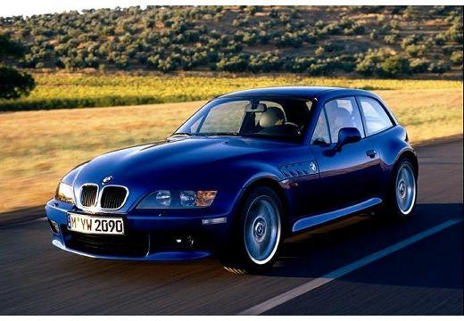 BMW Z3 coupe niebieski jasny przedni lewy