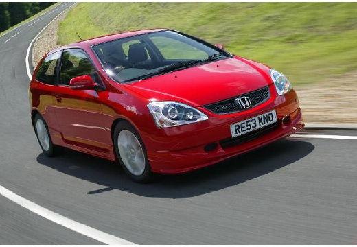 HONDA Civic V hatchback czerwony jasny przedni prawy