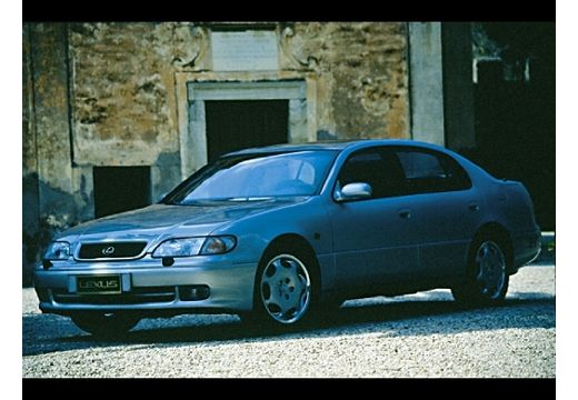 LEXUS GS 300 sedan silver grey przedni lewy