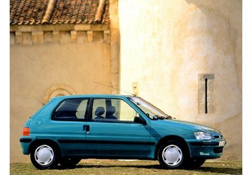 PEUGEOT 106 hatchback zielony boczny prawy