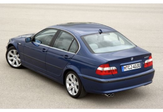 BMW Seria 3 E46/4 sedan niebieski jasny tylny lewy
