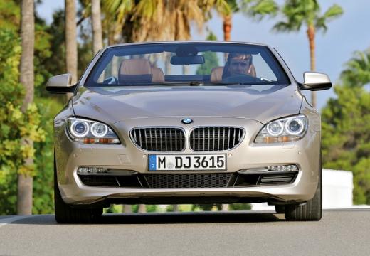 BMW Seria 6 kabriolet beige przedni