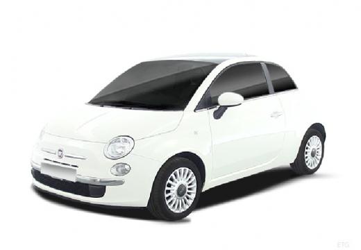 FIAT 500 I hatchback biały