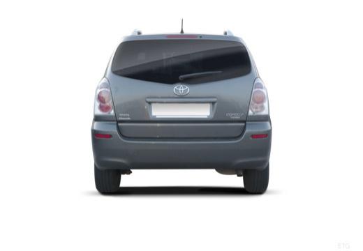Toyota Corolla Verso II kombi mpv tylny