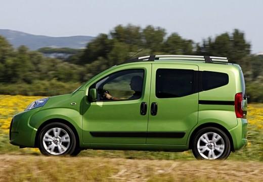 FIAT Fiorino Qubo kombi zielony boczny lewy