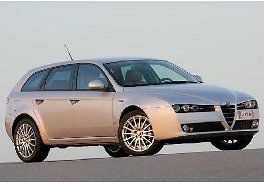 ALFA ROMEO 159 Sportwagon kombi silver grey przedni prawy