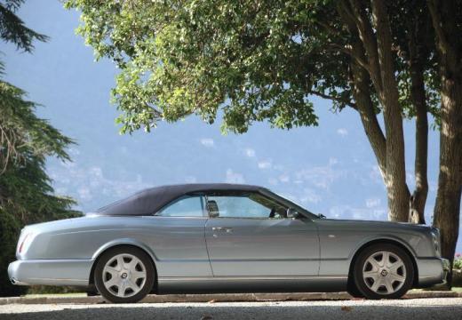 BENTLEY Azure I kabriolet silver grey boczny prawy