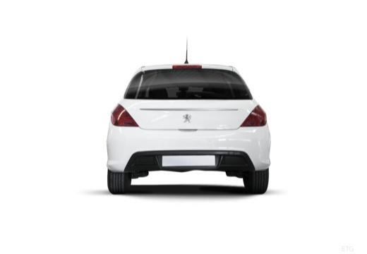 PEUGEOT 308 II hatchback tylny