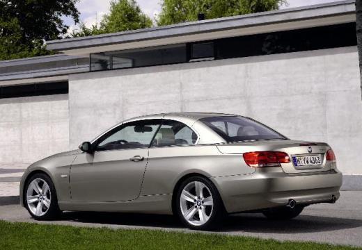 BMW Seria 3 Cabriolet E93 I kabriolet silver grey tylny lewy