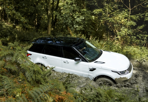 LAND ROVER Range Rover kombi boczny prawy
