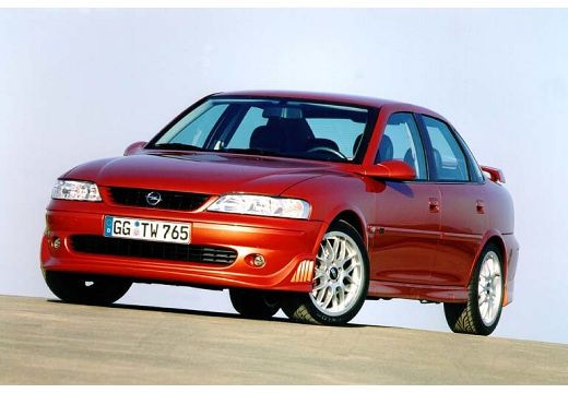 OPEL Vectra B II sedan czerwony jasny przedni lewy