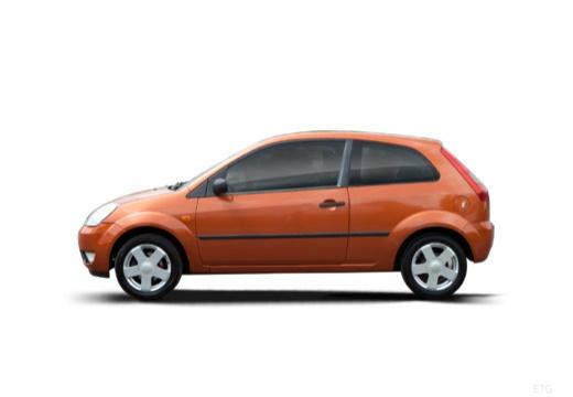FORD Fiesta V hatchback boczny lewy
