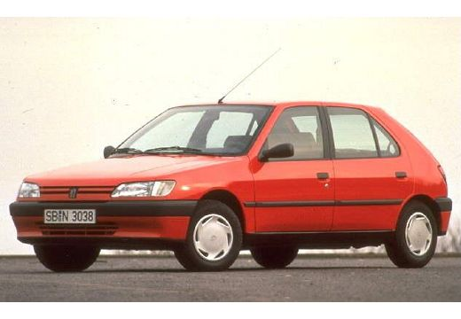 PEUGEOT 306 1.4 XN Hatchback I 75KM (benzyna)