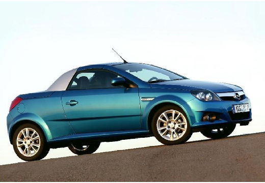 OPEL Tigra roadster niebieski jasny przedni prawy