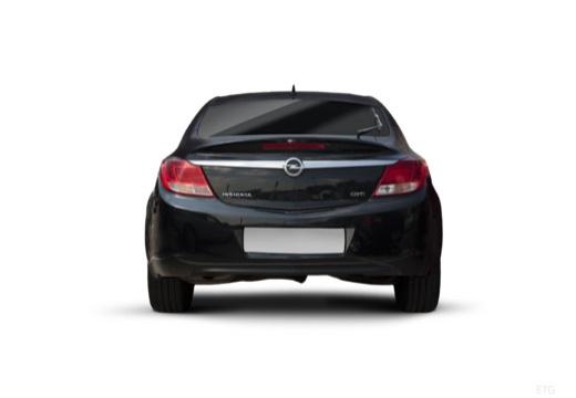 OPEL Insignia I hatchback czarny tylny