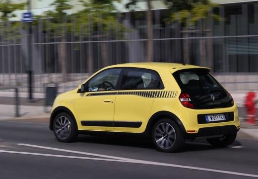 RENAULT Twingo VI hatchback żółty boczny lewy