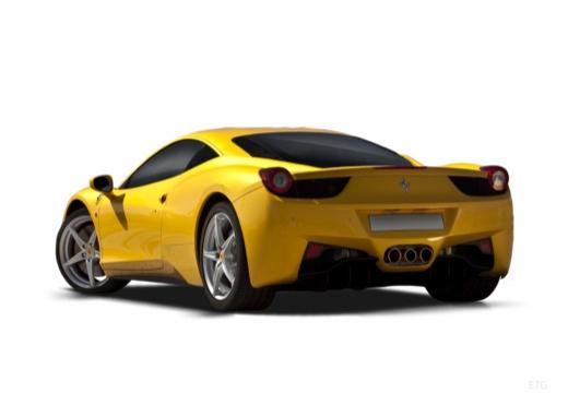 FERRARI 458 I coupe żółty tylny lewy