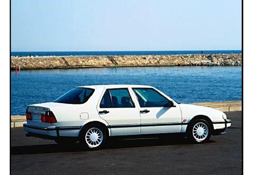 SAAB 9000 CD II sedan biały tylny prawy