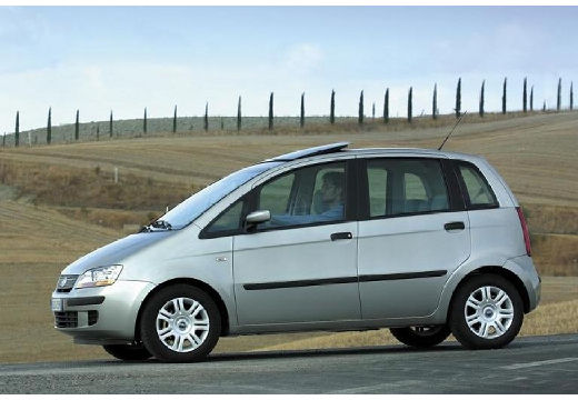 FIAT Idea I kombi silver grey przedni lewy