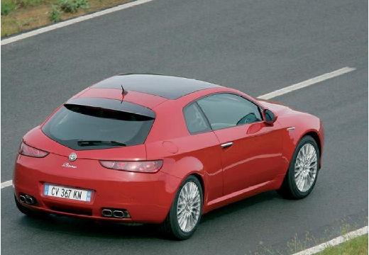 ALFA ROMEO Brera coupe czerwony jasny tylny prawy
