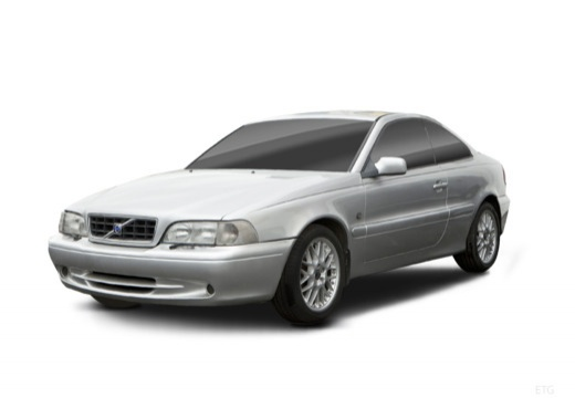 VOLVO C70 coupe silver grey