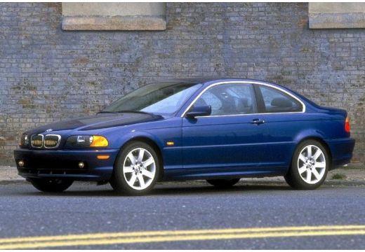 BMW Seria 3 coupe niebieski jasny przedni lewy