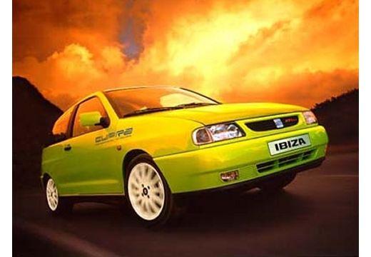 SEAT Ibiza II hatchback zielony przedni prawy