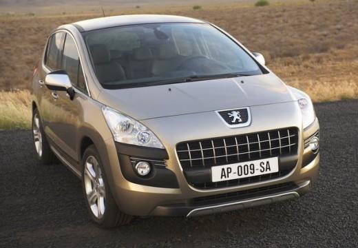 PEUGEOT 3008 I hatchback silver grey przedni prawy