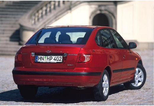 HYUNDAI Elantra II hatchback brązowy tylny prawy