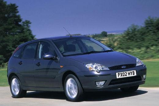 FORD Focus II hatchback niebieski jasny przedni prawy