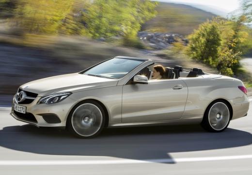 MERCEDES-BENZ Klasa E Cabrio A 207 II kabriolet silver grey przedni lewy