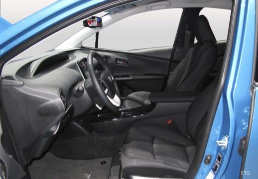 Toyota Prius hatchback wnętrze