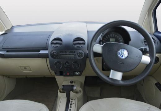 VOLKSWAGEN New Beetle I coupe niebieski jasny tablica rozdzielcza