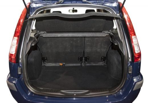 FORD Fusion II hatchback przestrzeń załadunkowa