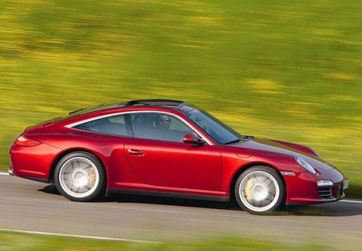 PORSCHE 911 997 coupe czerwony jasny przedni prawy