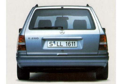MERCEDES-BENZ 124 200-320TE T kombi silver grey tylny