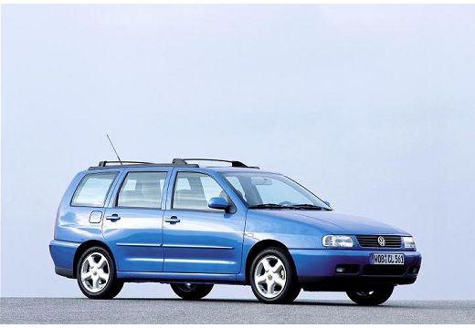 VOLKSWAGEN Polo III Variant II kombi niebieski jasny przedni prawy