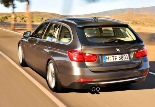 BMW Seria 3 Touring F31 I kombi silver grey tylny lewy