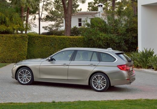BMW Seria 3 Touring F31 I kombi brązowy tylny lewy