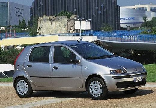 FIAT Punto II I hatchback silver grey przedni prawy