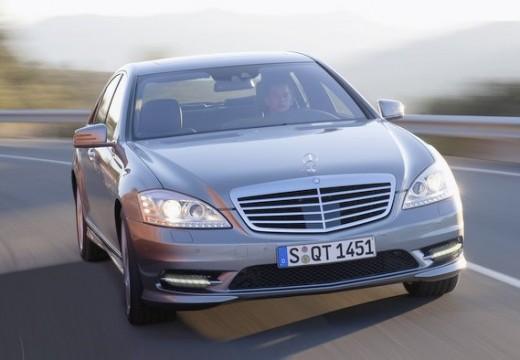 MERCEDES-BENZ Klasa S W 221 II sedan silver grey przedni prawy