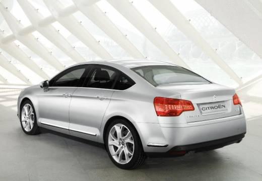 CITROEN C5 III sedan silver grey tylny lewy