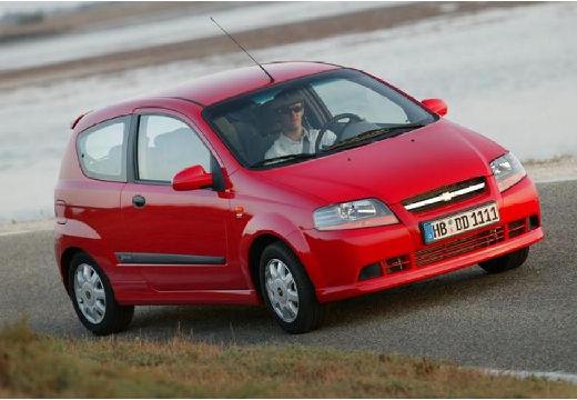 CHEVROLET Aveo I hatchback czerwony jasny przedni prawy