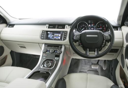 LAND ROVER Range Rover Evoque II kombi czarny tablica rozdzielcza