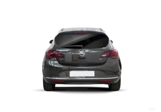 OPEL Astra IV II hatchback czarny tylny