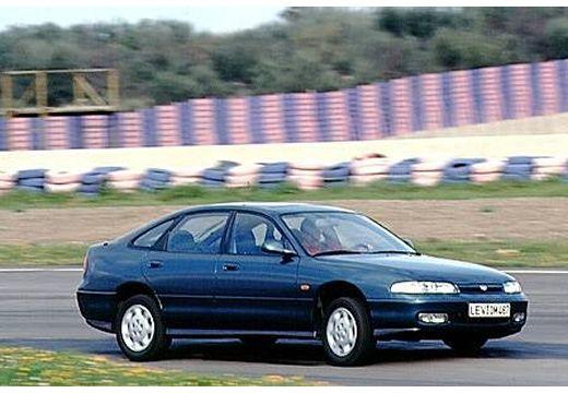 MAZDA 626 III sedan niebieski jasny przedni prawy