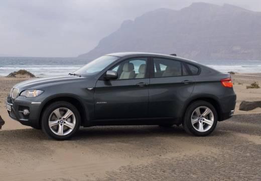 BMW X6 hatchback szary ciemny przedni lewy