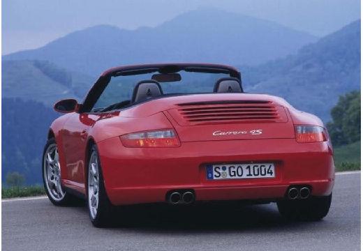PORSCHE 911 Cabrio 997 kabriolet bordeaux (czerwony ciemny) tylny lewy