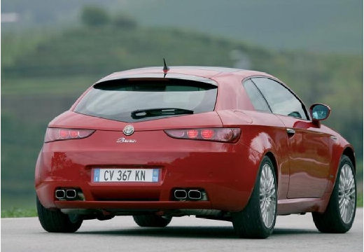 ALFA ROMEO Brera I coupe czerwony jasny tylny prawy