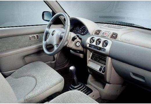 NISSAN Micra IV hatchback wnętrze